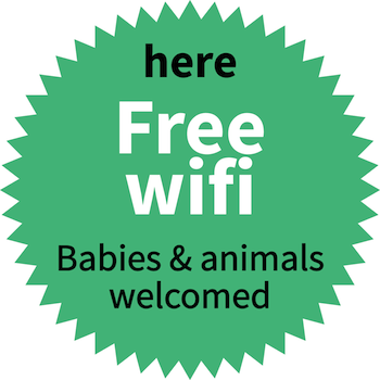 Wifi, baby cot, ...